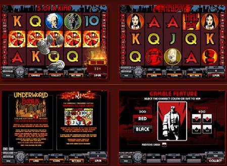 HELLBOY slot game Microgaming Casino Splendido Multi language online casino slots, poker Media Man Australia - 웹